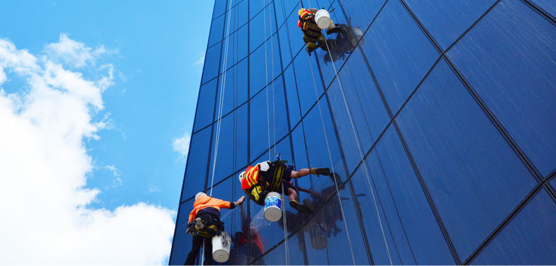 Exterior Office window Cleaning Services