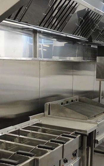 Kitchen exhaust canopy cleaning
