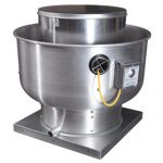 Restaurant kitchen exhaust fan