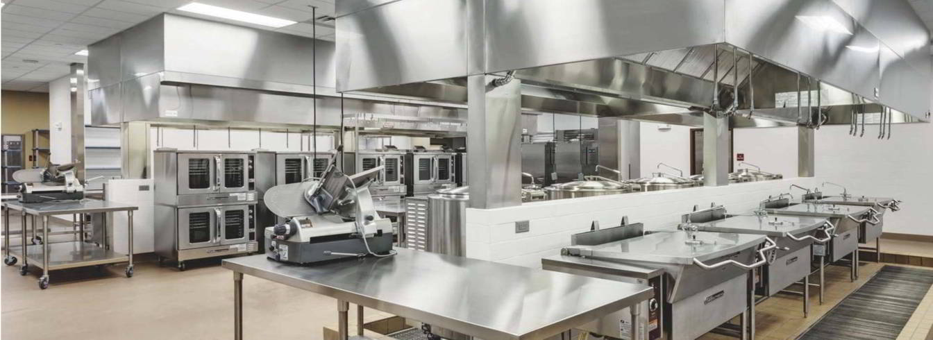 Commercial kitchen stainless steel equipments